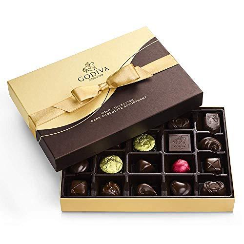 GODIVA Chocolatier Dark Chocolate Gift Box, 22-Ct., 13938