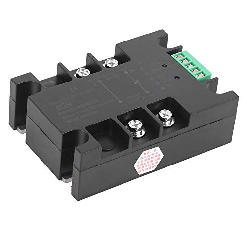 BERM DC Voltage Regulation Practical Relay, Heat Dissipation SSR, for 3D Printer Hot Bed Heated Bed(BEM-60-ZN-TY-220)