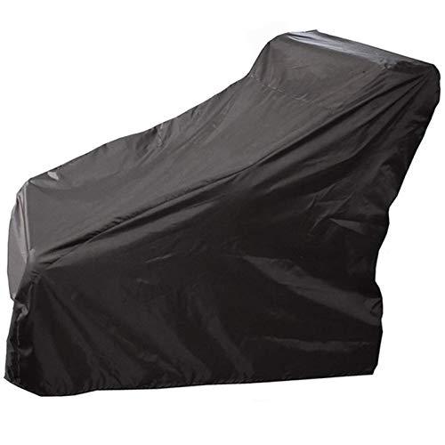 STZYY Funda de protección para silla de ruedas, cubierta para scooter, impermeable, transpirable, eléctrica, para muebles de jardín, tela Oxford, resistente al desgarro, negro, 115 x 75 x 130