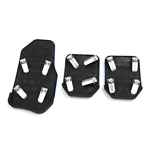 uxcell 3 in 1 Universal Racing Sports Non-Slip Automatic Car Gas/Brake Pedals Pad Cover