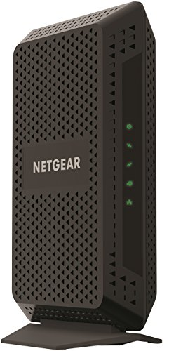 NETGEAR Cable Modem CM600 - Compatible with all Cable Providers including Xfinity by Comcast, Spectrum, Cox | For Cable Plans Up to 400 Mbps | DOCSIS 3.0