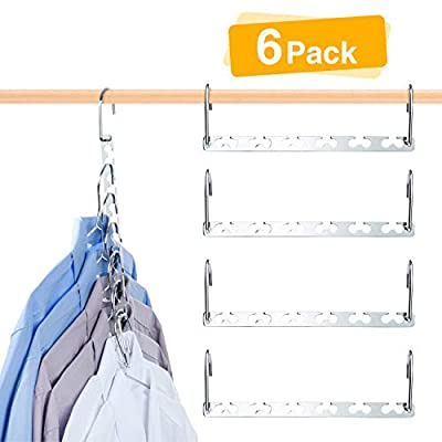 HOUSE DAY Magic Hangers Space Saving Hangers Closet Space Saver Oragnizer by HOUSE DAY