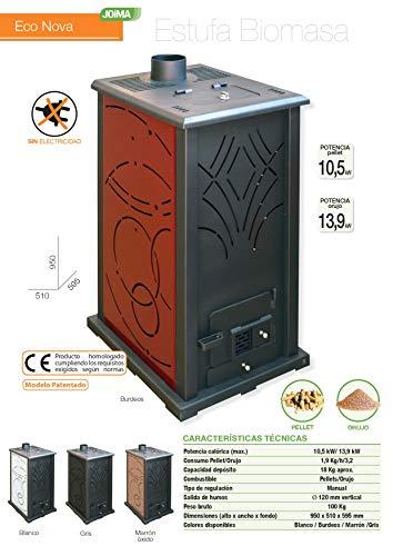 JOIMA Calefacción de pellets