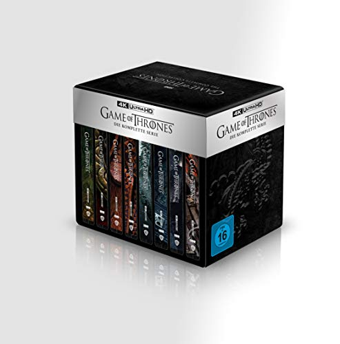 Game Of Thrones - TV Box Set - 4K UHD - Steelbook [Blu-ray]