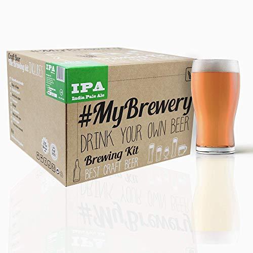 Kit per fermentazione birra artigianale   Ricetta IPA   5 litri   Malto macinato e luppolo fresco   La tua birra a casa