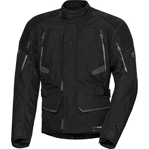 FLM Motorradjacke mit Protektoren Motorrad Jacke Touren Leder-/Textiljacke 4.0 anthrazit XL, Herren, Tourer, Ganzjährig