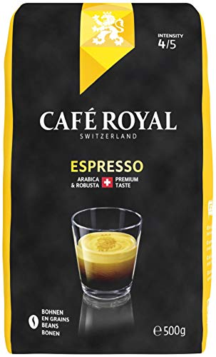 Café Royal Espresso Bohnenkaffee, 6er Pack (6 x 500 g)