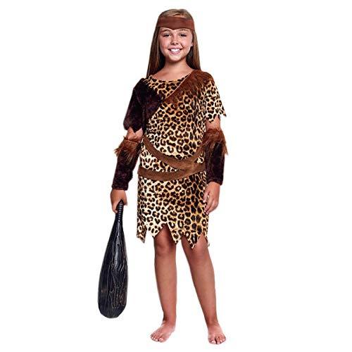 Disfraz Cavernícola Niña (7-9 años) (+ Tallas) CarnavalHistórico