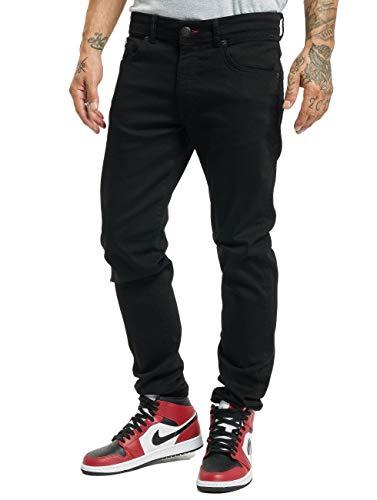 Petrol Industries Herren Slim Fit Jeans Seaham Classic schwarz W 34 L 36