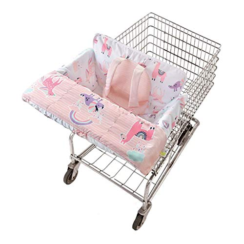 Shopping cart Cover for Baby, Grocery cart Cover, Babies Buggy high Chair and Girl seat