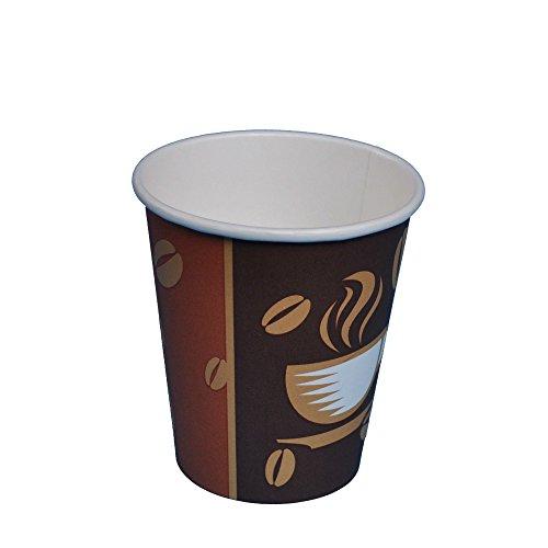 Kaffee Becher 1000 Stück Coffee to go Becher 250ml 0,25l