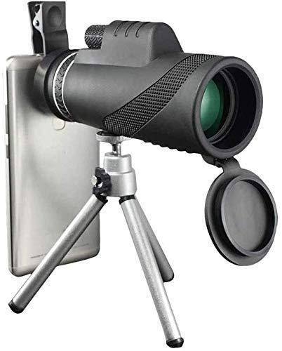 YIQIFEI 4K 10, Telescopio Estelar monocular - Telescopio monocular con Zoom súper teleobjetivo de 300X40 mm Portátil con Soporte para teléfono Inteligente (Monocular)