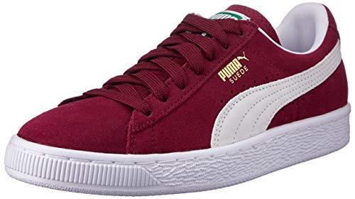 Puma Suede Classic+', Sneaker Unisex – Adulto, Rosso (Cabernet-White), 43 EU