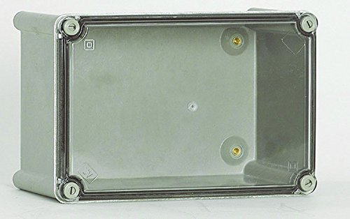 Cahors ROC66APT Caja Poliester Tapa Transparente, IP66, Cuerpo Poliéster - Tapa policarbonato