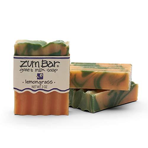 Zum Bar Goat's Milk Soap - Lemongrass - 3 oz (3 Pack)