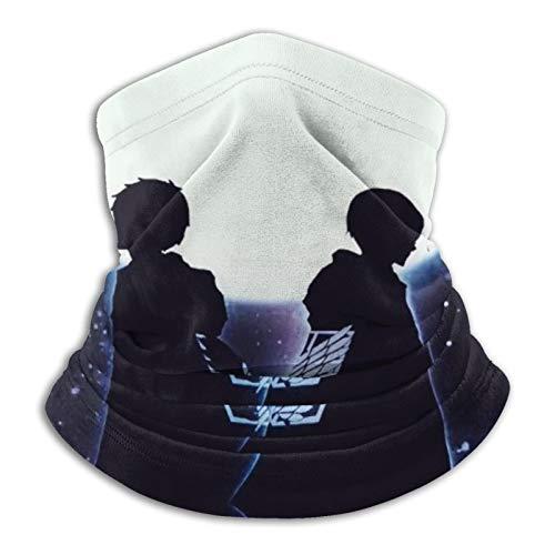 Máscara facial Attack On Titan, reutilizable, lavable, pañuelos, mujeres y hombres