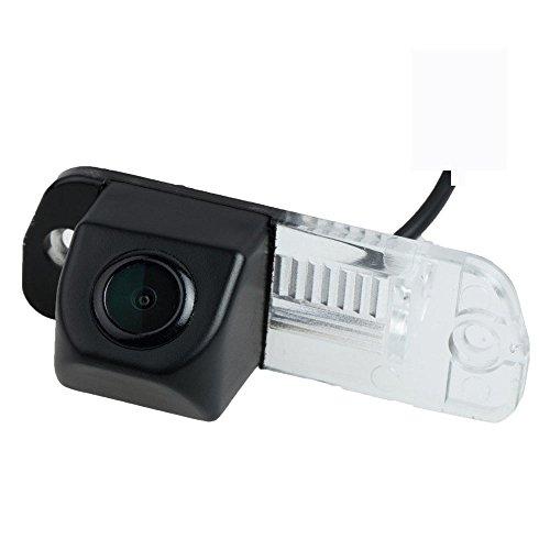 HD 720p Farb Rückfahrkamera integriert in die Kennzeichenbeleuchtung Kamera Einparkhilfe mit Distanzlinien für Mercedes Benz W164 ML Class X164 GL450/R300L/R350L/R350/R280 (W251)