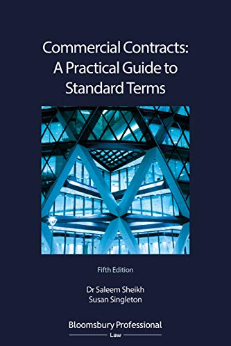 Commercial Contracts: A Practical Guide to Standard Terms (English Edition)