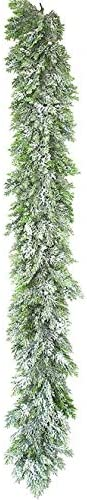 Low price 6 Foot Louisville-Jefferson County Mall Snowy Glittered Garland Pine