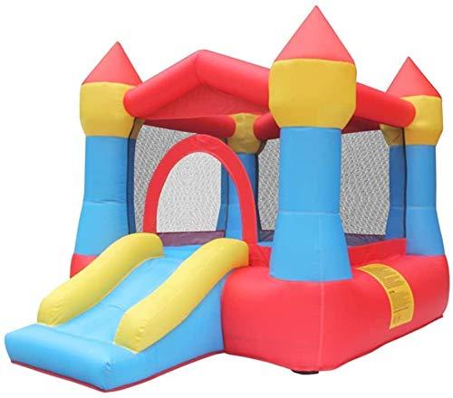 Vivid Castillo Hinchable Inflable Pequeño Castillo Inflatable de la Diapositiva para el Interior y al Aire Libre para los niños para el Patio del Patio (Color: Naranja, Tamaño: 260 Veces; 190 cm) WKY