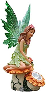 Greenkey Garden and Home Ltd Fairy Sunflower Figurine Figura