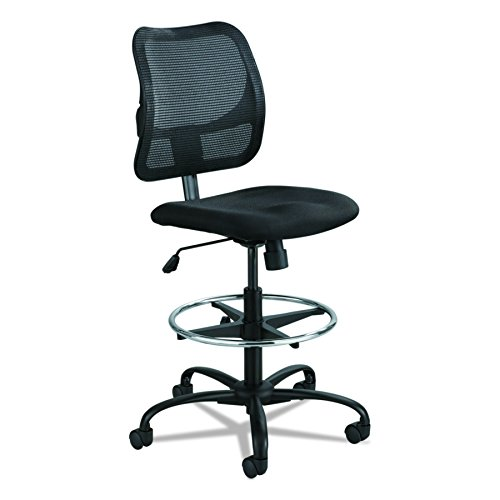 Safco Products Vue Mesh Extended-Height Chair 3395BL, Ergonomic,...