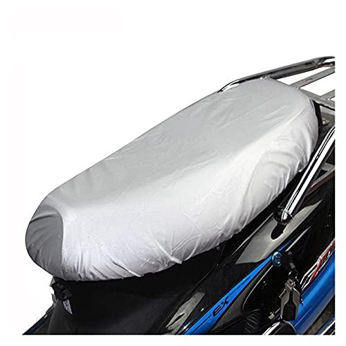Cojín de Asiento de Moto Fundas de Asiento de Motocicleta Funda de Asiento de Scooter Funda Impermeable para la Nieve Parasol cojín de Lluvia UV Antipolvo Alfombrilla de Tela Oxford