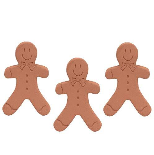 Brown Sugar Bear Original Brown Sugar Saver and Softener, Terracotta, Gingerbread Girl, Set of 3