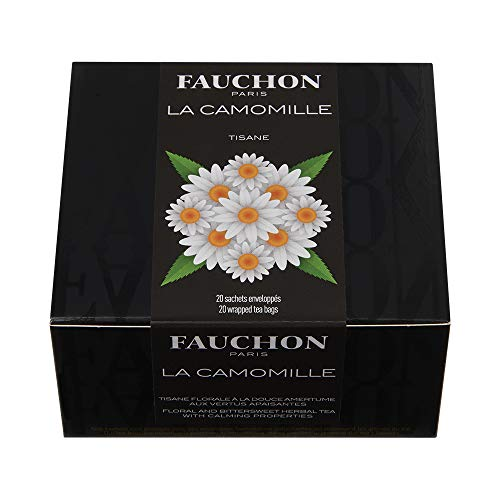 FAUCHON TEA PARIS - Camomile herbal tea / Kamille Kräutertee - 20 Teebeutel