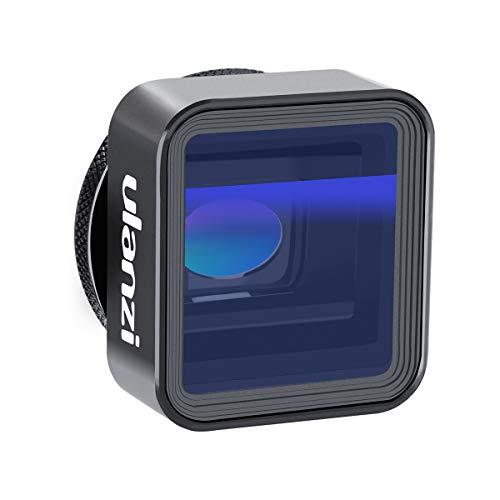 ULANZI 1.33X Anamorphes Objektiv Filmemacher-Kameraobjektiv, Handy-Widescreen-Filmobjektiv von Filmic Pro App für iPhone 11 Pro Max. Pixel Samsung Galaxy OnePlus Filmemacher Vollständiges Filmvideo