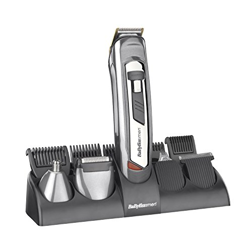 BaByliss 10-in-1 Titanium Grooming System for Men