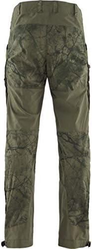 Pantalones Ligeros y Duraderos para la Caza Activa en Tejido El/ástico Hombre FJALLRAVEN Lappland Hybrid Trousers M
