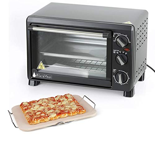 Set Pierre à pizza rectangulaire + Black Pear BFO18 - Four 18L