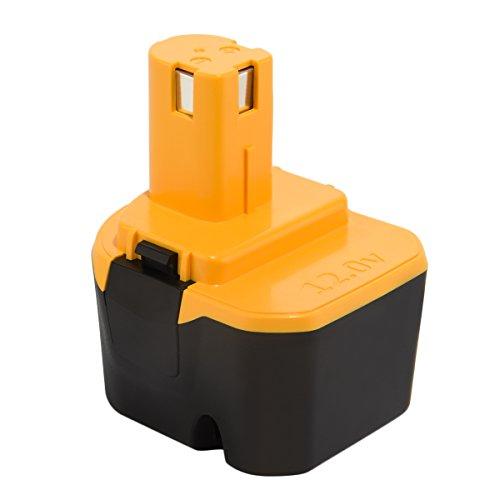 Joiry 12V 3500mAh Ni-MH Replacement Batterie pour Ryobi 1400143 1400652 1400670 4400005 B-8286 BPT1025 RY-1204