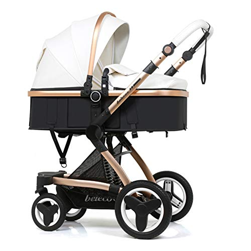 Learn More About High Landscape Baby Stroller Can Sit and Lie Down Two-Way Toddler Pushchair for Bab...