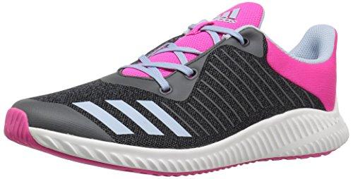 adidas Kids' Fortarun,Dark Grey/Easy Blue/Shock Pink,12 M US Little Kid