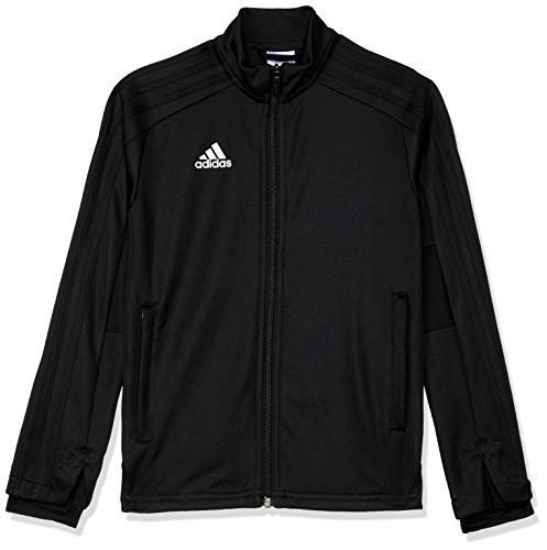 adidas Kinder CON18 TR JKT Y Sport Jacket, Black/White, 11-12Y