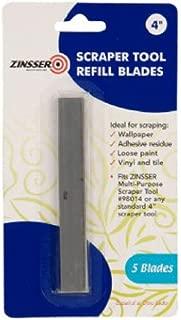 Zinsser 98015 4-Inch Scraper Refill Blades
