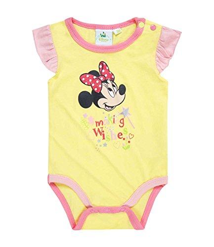 Disney Minnie Babies Body bebé - Amarillo - 24M