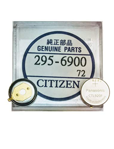 295-6900 Genuine Original Citizen Watch Energy Cell - Battery - Capacitor for Eco-Drive Watch (Same as 295-69)