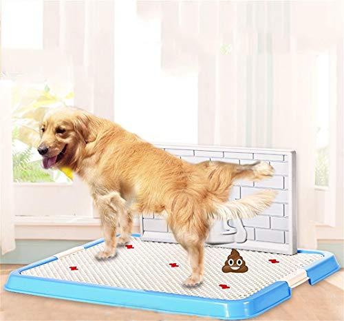 XYYMC Aseo para Perros Perros Animal-WC Inodoro Perros Bandeja para Entrenar Perros Mascotas para