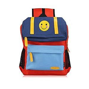 41+gHQdIY L. SS300  - FLHLH Mochila Escolar Unisex para Mochila Escolar Primaria,Mochila Escolar para niños Smiley, Mochila de Tela Oxford…