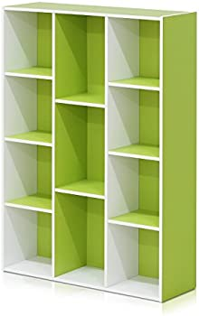 Furinno 11-Cube Reversible Open Shelf Bookcase