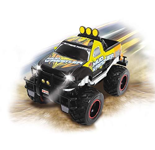 RC Auto kaufen Monstertruck Bild 3: Dickie Toys 201119455 - RC Ford F150 Mud Wrestler, funkferngesteuerter Monstertruck inklusive Batterien, 30 cm*