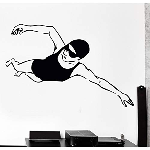 Huaden 5pcs Fototapete Schwimmen Schwimmer Wassersport Woman Female Girl