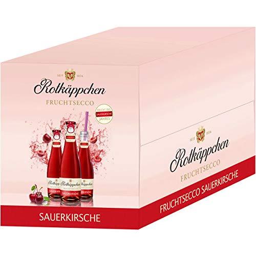 12 Flaschen Rotkäppchen Fruchtsecco Sauerkirsche a 200ml Piccolo