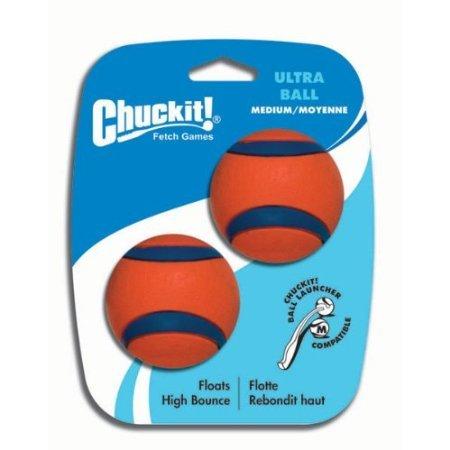 Canine Hardware Chuckit. Taille M Ultra Balles de 2,5, 2. En Caoutchouc, Lanceur, Tuff,, Lanceur,