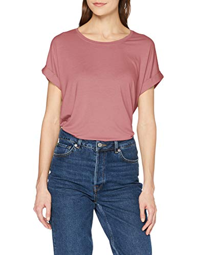 ONLY Damen onlMOSTER S/S O-Neck TOP NOOS JRS T-Shirt, Rosa (Mesa Rose), 40 (Herstellergröße: L)