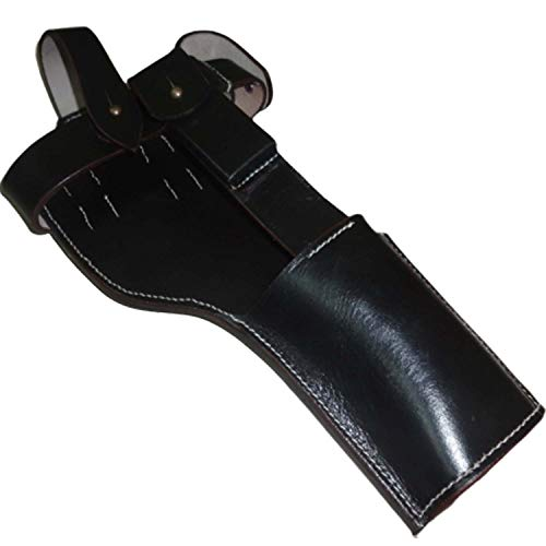 warreplica Deutsch C96 Broomhandle Mauser Holster Dunkelbraun Farbe - Reproduktion