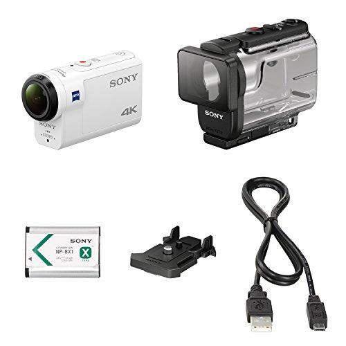 ソニーウエアラブルカメラアクションカム4K+空間光学ブレ補正搭載モデル(FDR-X3000)